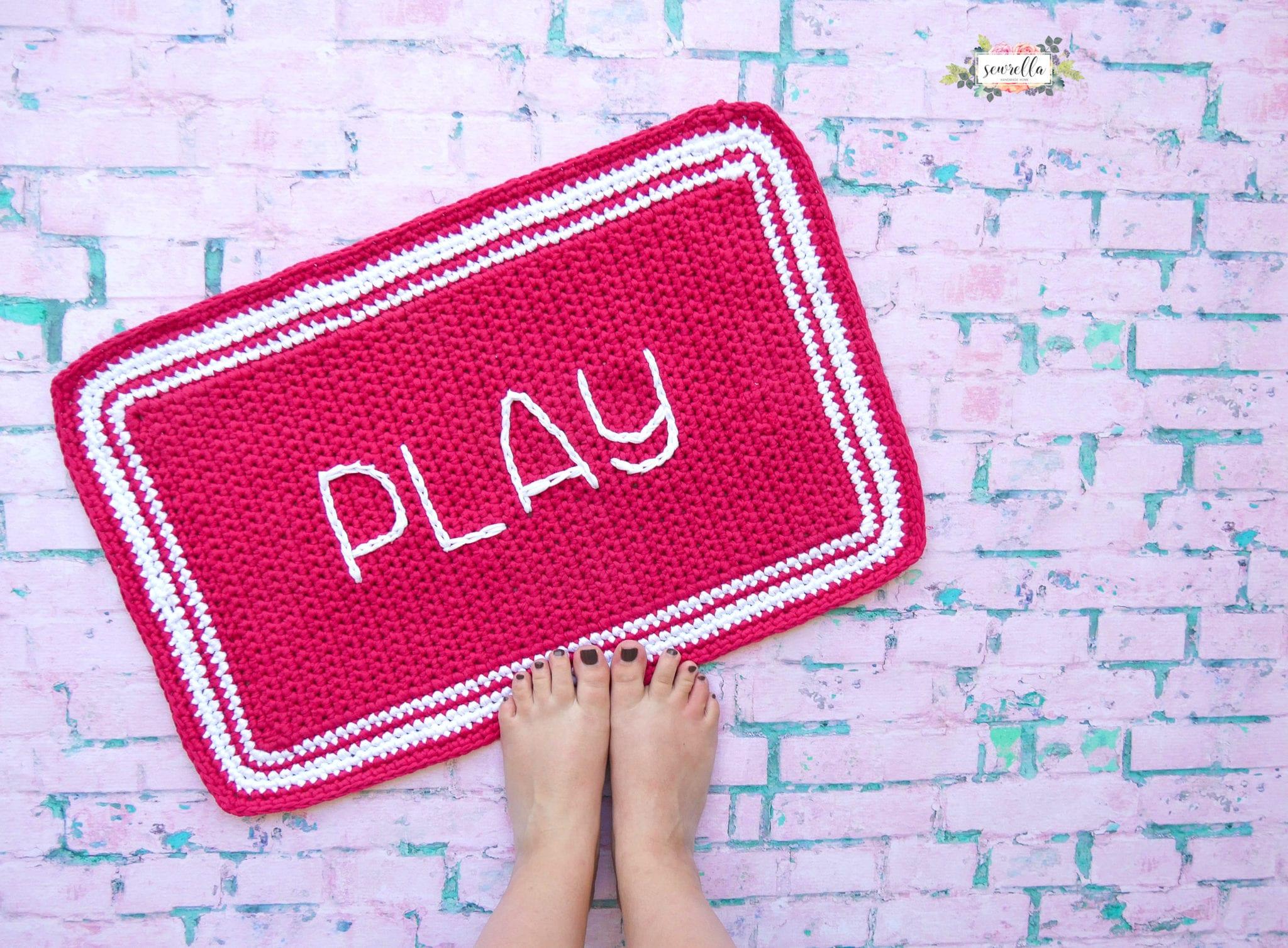 Play Crochet Outdoor Rug Sewrella