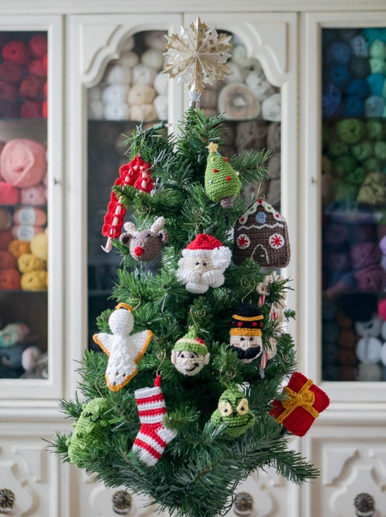 2017 Christmas Ornament Crochet-a-Long - Sewrella