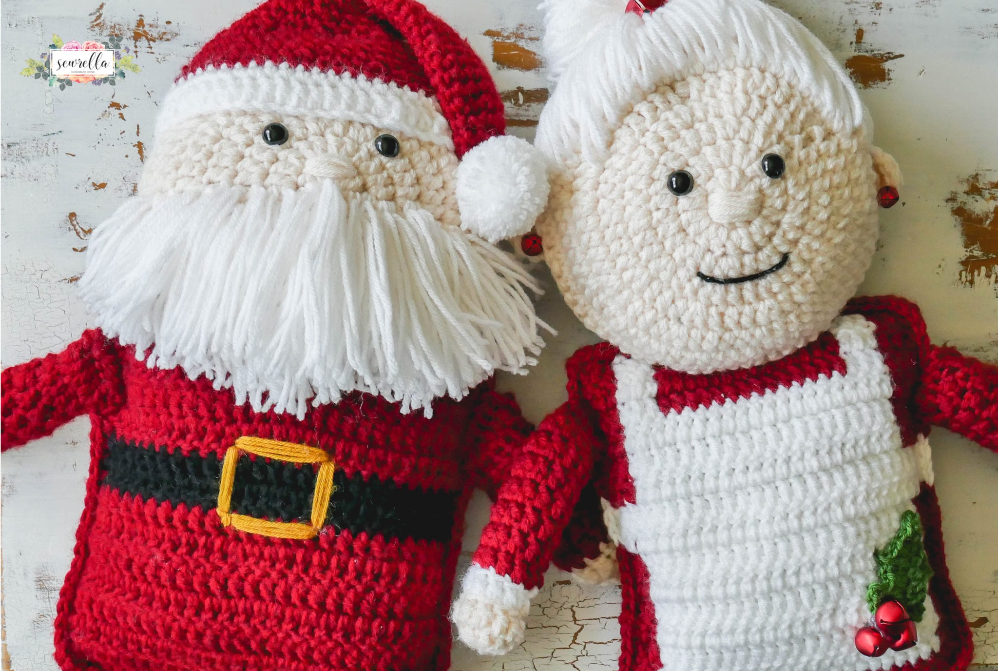 Santa Claus y CagaTió con Patrón cajitadecrochet | 1376x2048