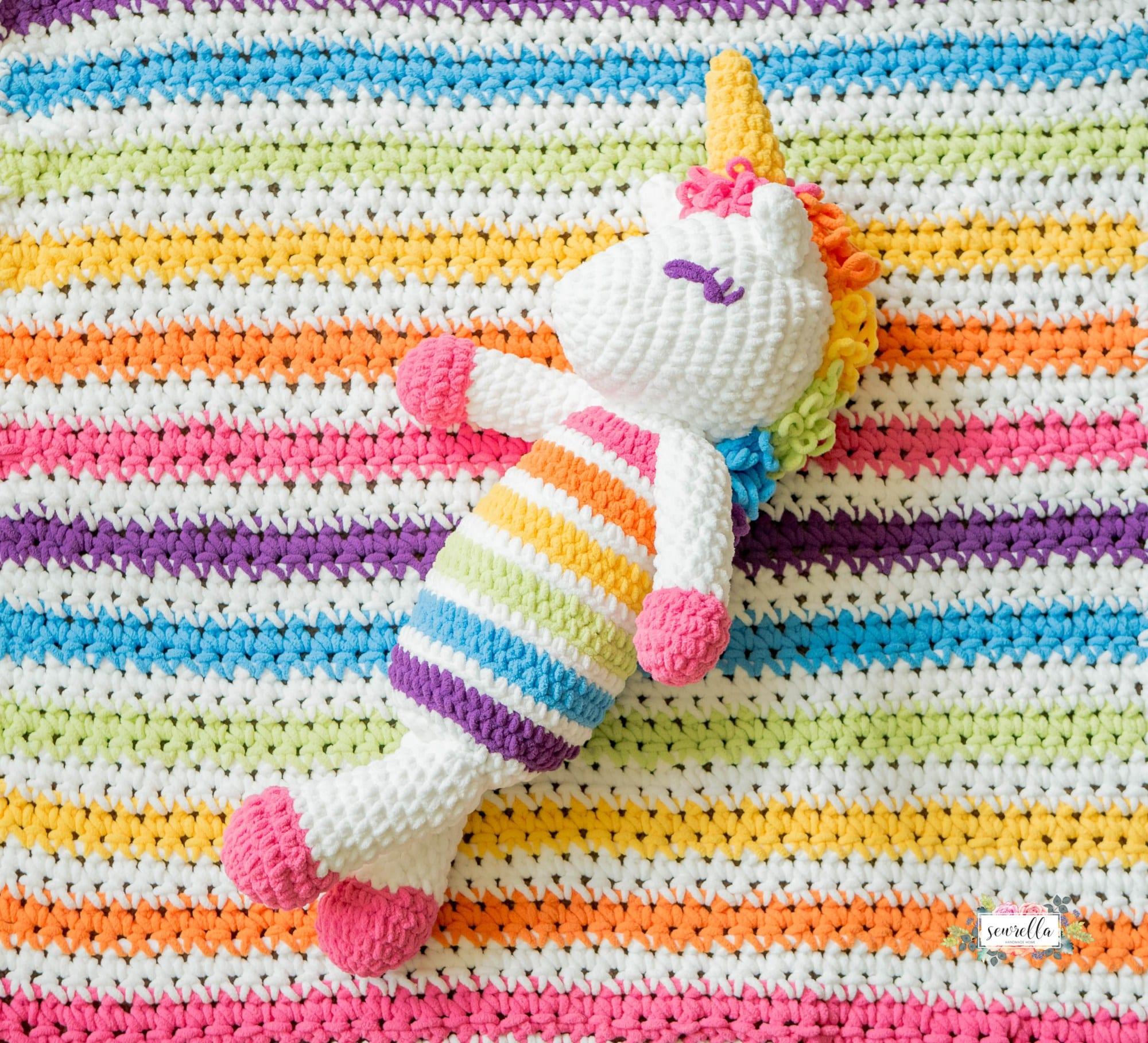 Crochet Rainbow Baby Free Pattern Roundup - Sewrella