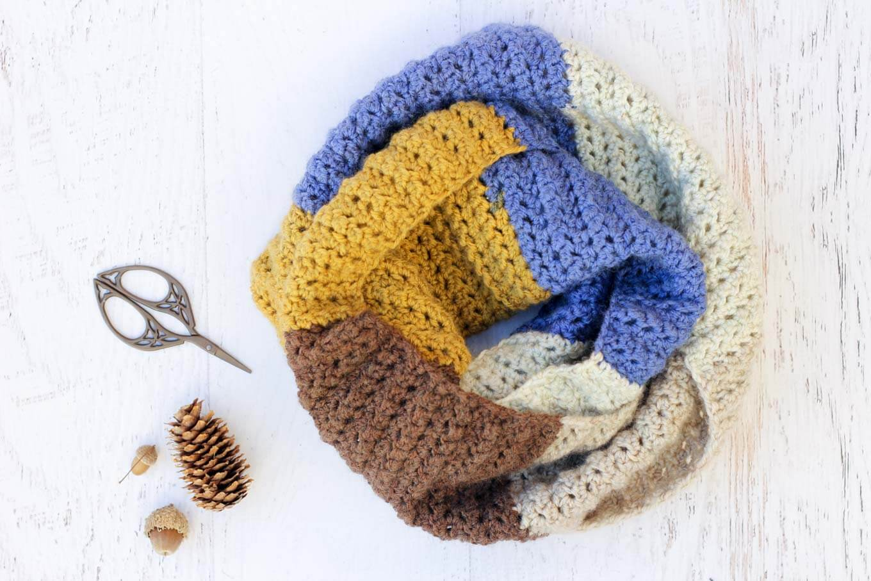 Top 5 Easiest Crochet Scarves Roundup Sewrella