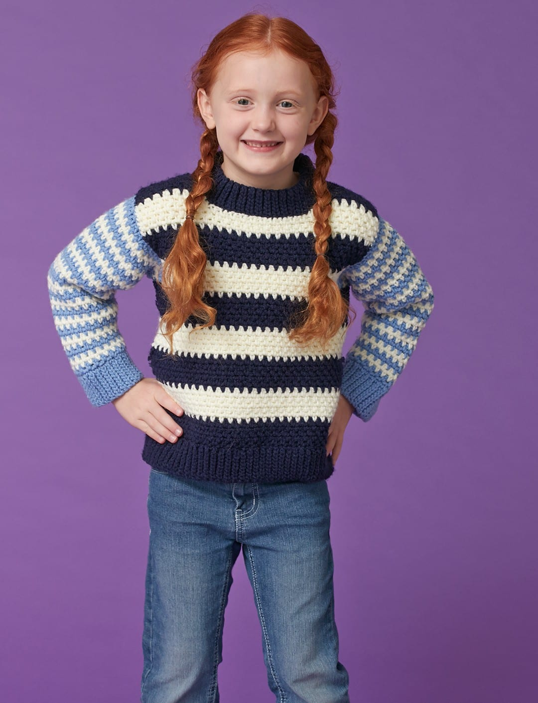 Kids Crochet Patterns That Look Knit Sewrella