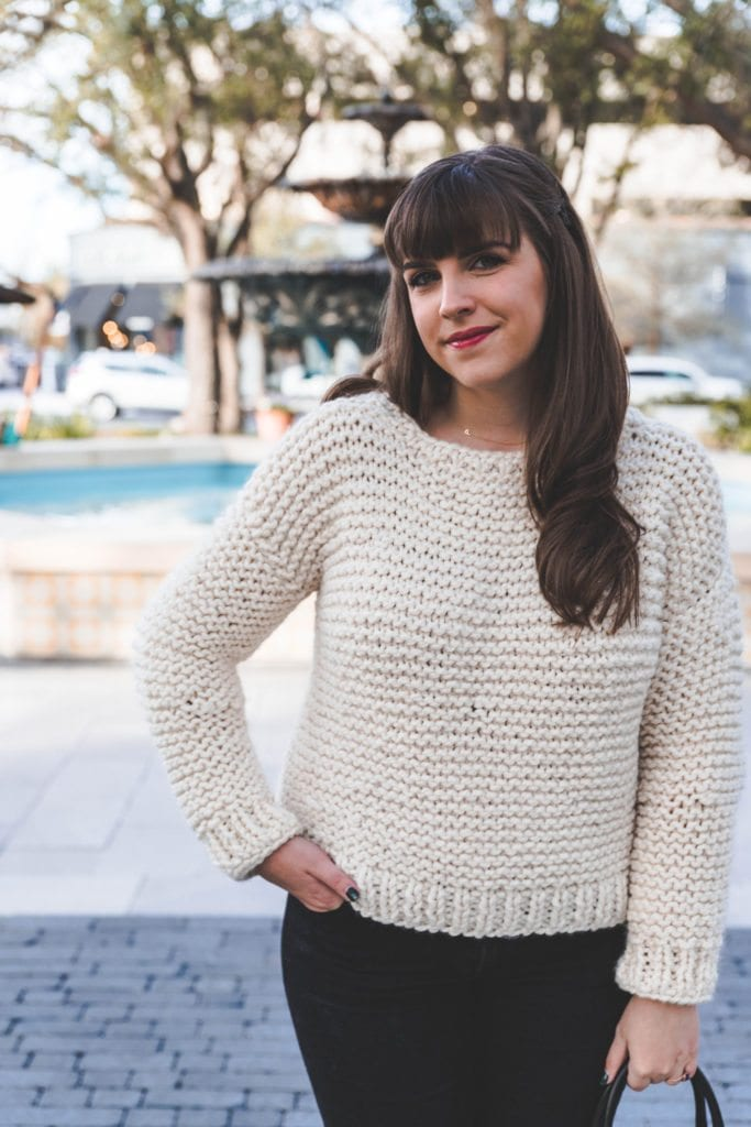 Simple Knit Sweater Sewrella