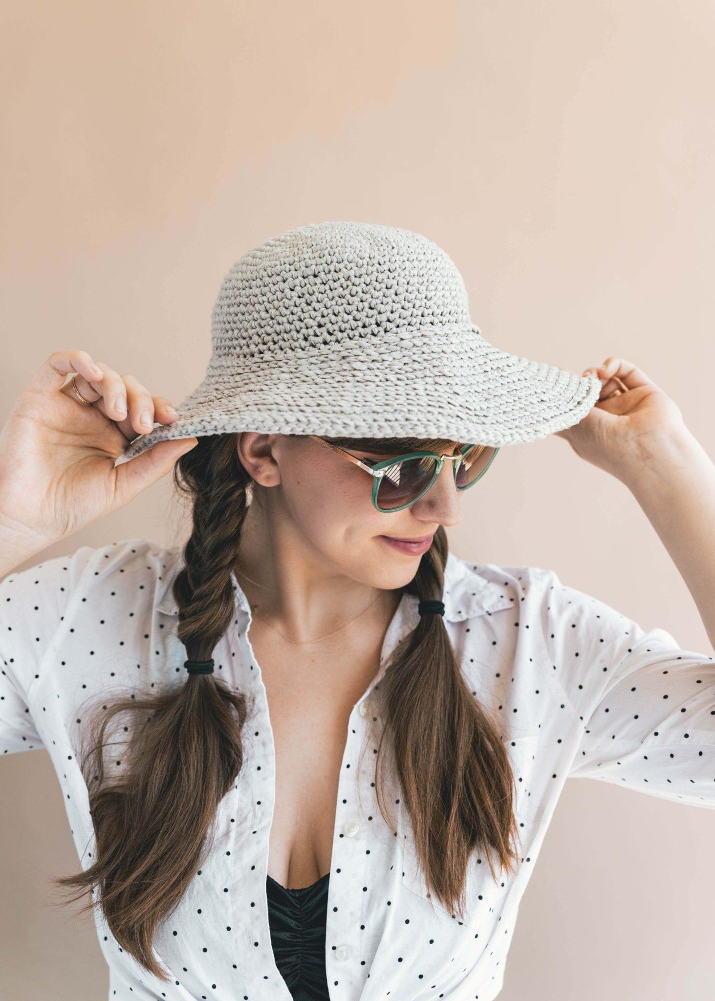 Crochet June Sun Hat • Sewrella