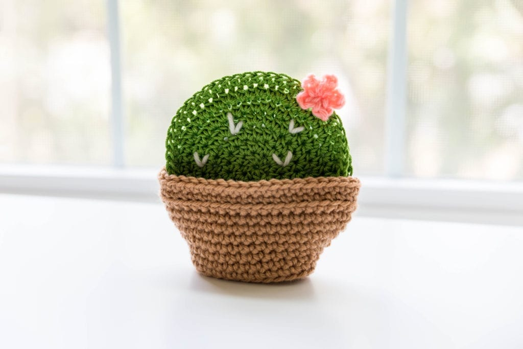 Crochet Cactus Coasters Sewrella