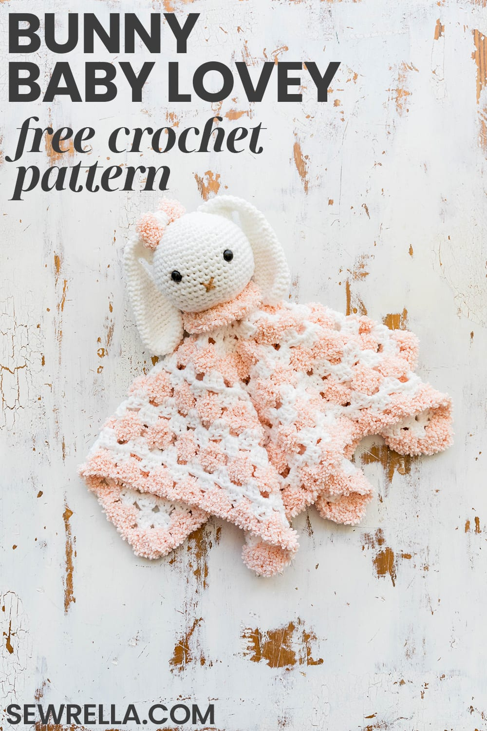 Velvet Easter Bunny Basket Free Crochet Pattern Tutorial | 1500x1000