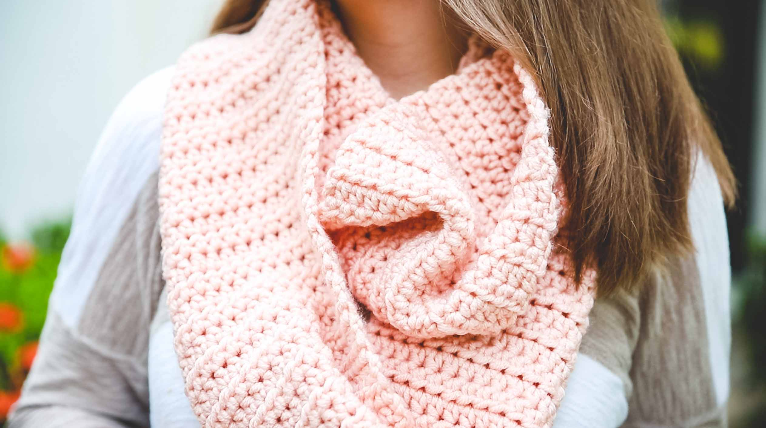 learn to crochet a scarf 1