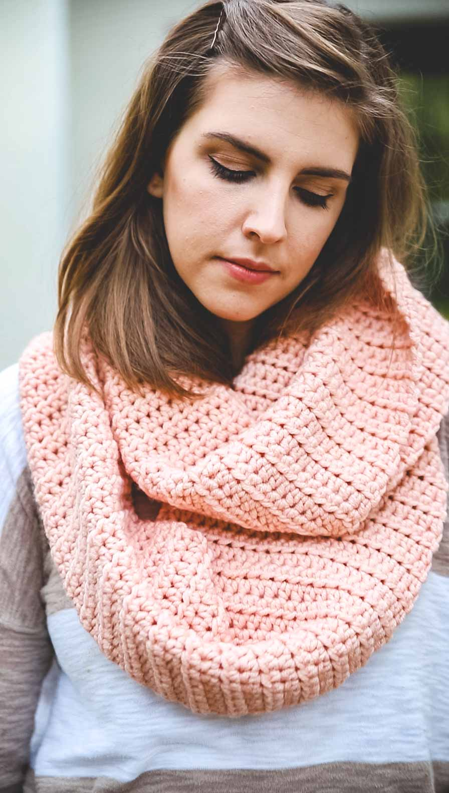 How To Crochet A Scarf No Experience Needed Sewrella