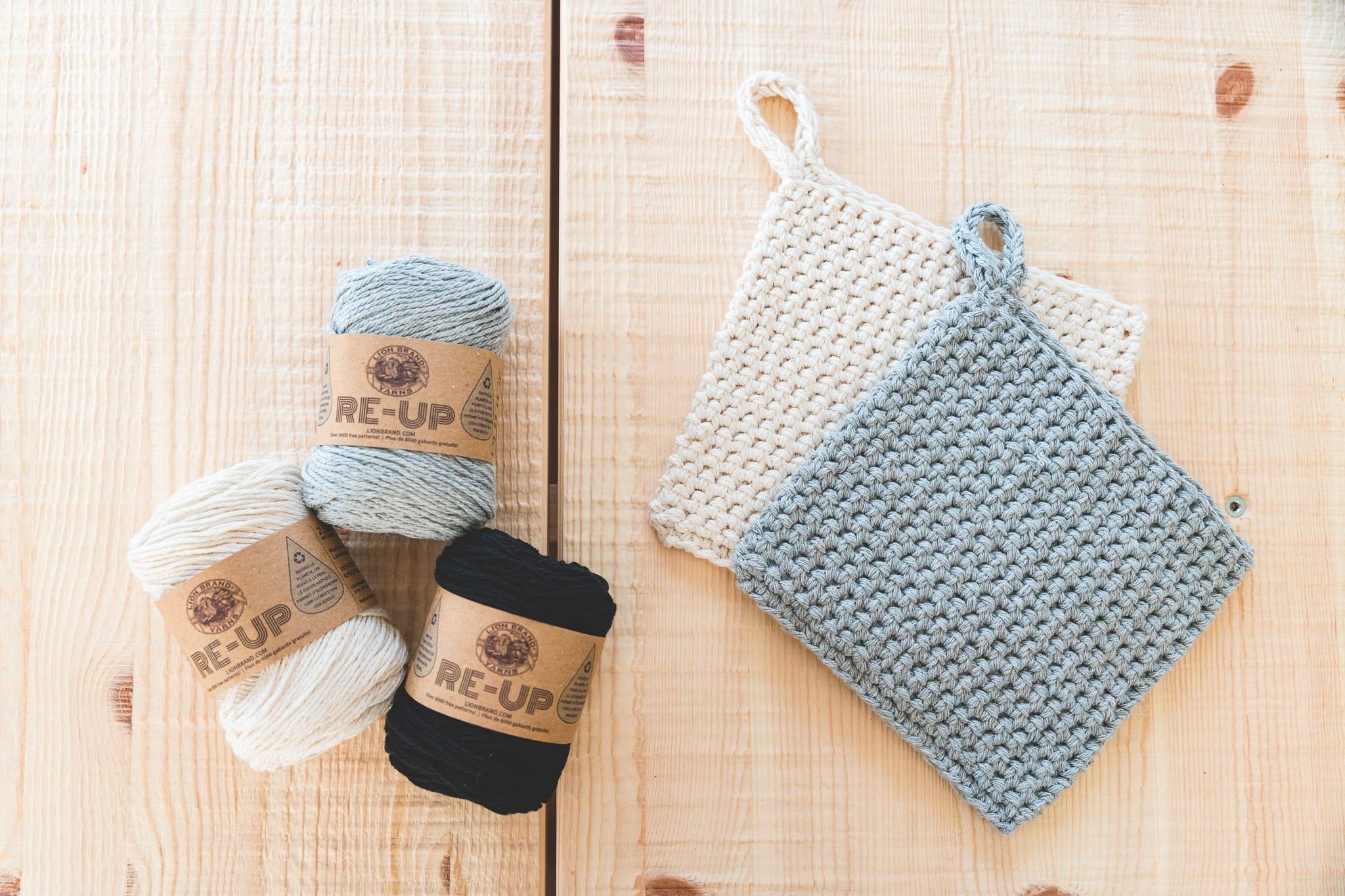 Crochet Potholders Free Pattern And Video Tutorial