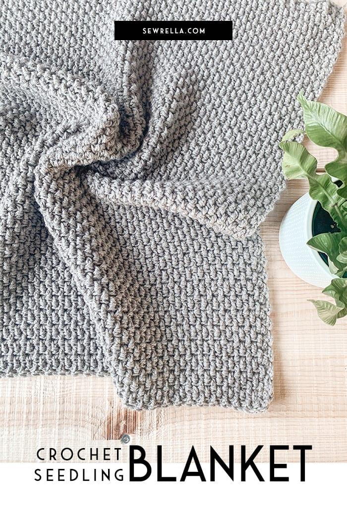 Crochet Seedling Blanket In 12 Sizes Free Pattern